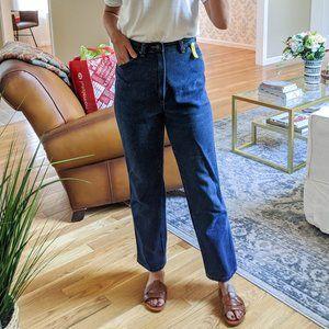 Vintage Wrangler High Rise Straight Blue Jeans 4-6